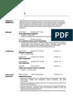 alexis knape webpage resume