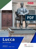 Lucca mit den ÖBB