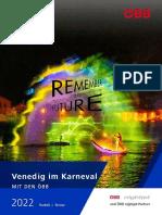 Venedig Karneval mit den ÖBB