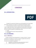 Dimensionnement Du Corps de Chausse
