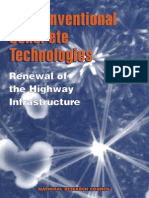 Non Conventional Concrete Technologies