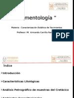 Sedimentologia en Cantarel