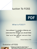 Introduction to FOSS(F)