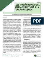 INFLUENCIA DEL TAMAñO MáXIMO DEL AGREGADO EN LA RESISTENCIA A LA ROTURA POR FLEXIóN.pdf