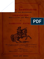 Orangeism, What It is Not, And What It is (PDF)