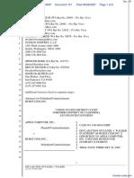 Apple Computer Inc. v. Burst.com, Inc. - Document No. 151