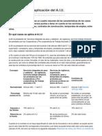 Guía de casos de aplicación del AIU
