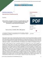 Estudios fronterizos - Alicia Girón y Eugenia Correa (coordinadoras), Del Sur hacia el Norte_ economía política del orden económico internacional emergente