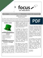 March 2015 Focus
