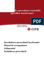 Operatiuni Contabile in Insolventa Mariana Boiciuc