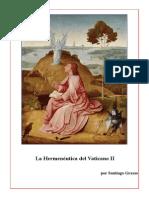La Hermenéutica del Vaticano II