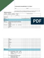 Pauta de Intervención Fonoaudiológica 1 Ciclo