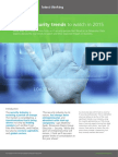 Top 5 IT Security Trends to Watch in 2015 Latest Thinking