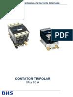 Contator tripolar - Comando em Corrente Alternada