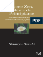 Suzuki, Shunryu - Mente Zen, Mente de Principiante [11713] (r1.2 Lalo2302)