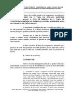 140024-14.2015.8.12.0000 - Desobediencia - Maria Da Penha - Juizado Especial
