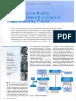 Maintenance Audits Using Balanced Scorecard and Maturity Model