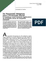 Da Repressão Religiosa Para a Promoção Social