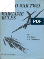 Skytrex WW2 Naval Rules