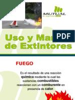 Uso y Manejo de Extintores 2010.ppt