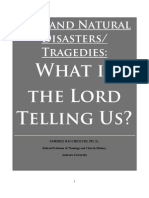 God and Disasters/Tragedies