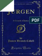 Jurgen (A Comedy of Justice)