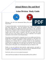 Asian History Study Guide