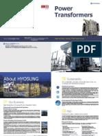 HICO Power Transformer Catalog