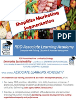 RDD Learning Academy SR Marketing Segmentation