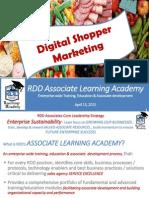RDD Learning Academy Digital Shopper Mktg