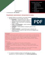 Estatc3adstica Organizac3a7c3a3o e Tratamento de Dados