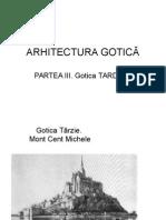 Arhitectura Gotică. Tardivă