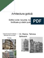 Arhitectura Gotică Civila Franta