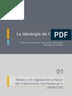 Ideología de Género - Países que la aplican, Sanciones y Acciones Tomadas en El Perú