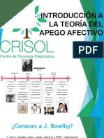 """Introducciã""""n a La Teorã-A Del Apego Afectivo"""