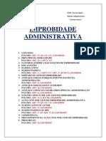 IMPROBIDADE ADMINISTRATIVA-ESQUEMA