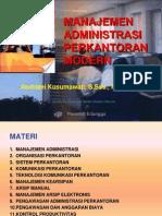 ManKan1 ANDRIANI Manajemen Administrasi Perkantoran Modern