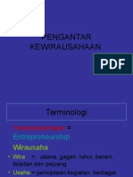 D4 - PENGANTAR KEWIRAUSAHAAN
