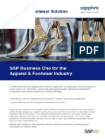 Sap Business One Fashion
