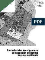 Las Industrias en El Proceso de Expansión de Bogotá Hacia El Occidente