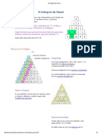 MatematicasDiscretas-El Triángulo de Pascal