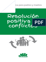Guia Resolucion Positiva de Conflictos Padres e Hijos