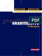 Graditeljstvo Englesko-Hrvatski rječnik
