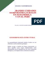 UNIDADES MORFOESTRUCTURALES 2da