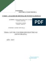 Ley de Concesion Electrica