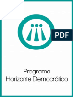 Programa de Horizonte Democrático