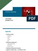 IPv6 en Tutorial - Jan Ostling