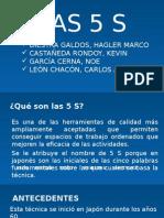 GRUPO DE LAS 5 S