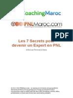 Devenir Expert en PNL