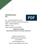 Trabajo de Universidad Ricardo